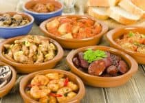 Traditional food from Spain